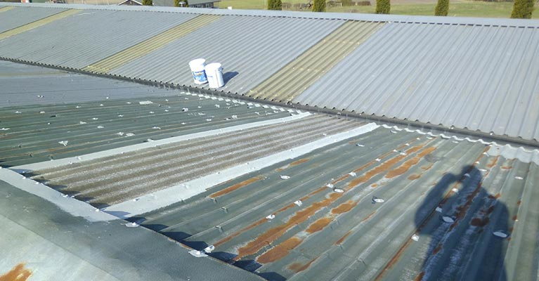 Walsall industrial roofing refurbishment