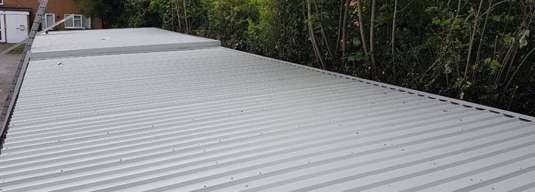 Asbestos Roof Replacement In Sutton Coldfield.