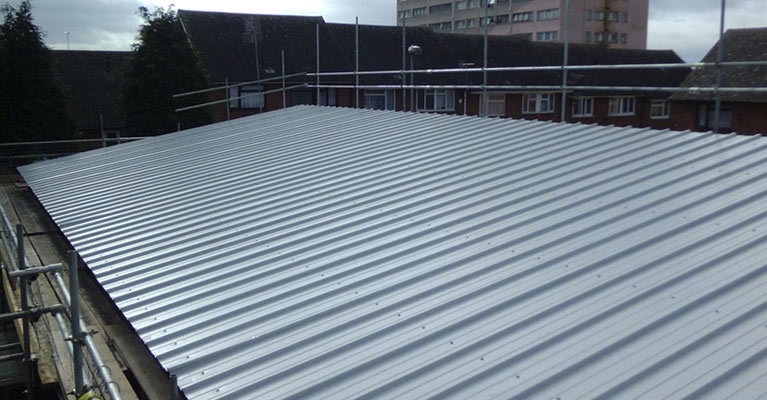 Kingspan composite roofing in Birmingham