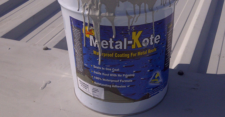 Acrypol Metal Kote cut edge corrosion treatment in Middlesex
