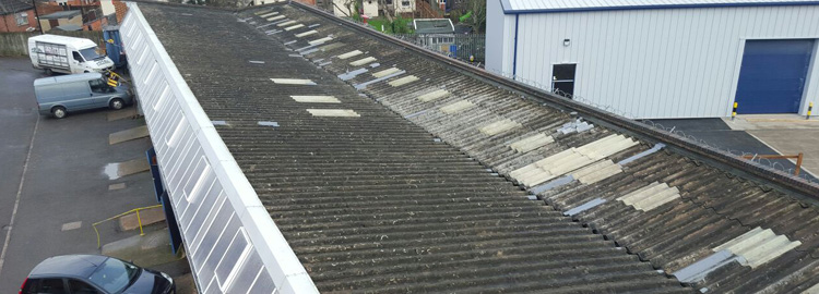 Industrial Roofing Repairs In Coventry.