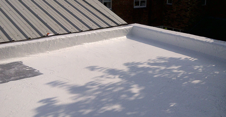 Leaking Flat Roof In Burton Seal With Acrypol System 10