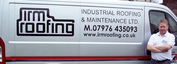 Andy Smith from Industrial Roofing in Walsall