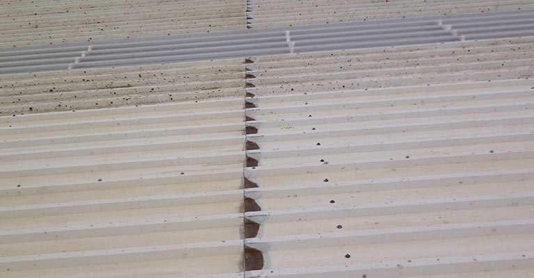 Cut edge corrosion in Rugby