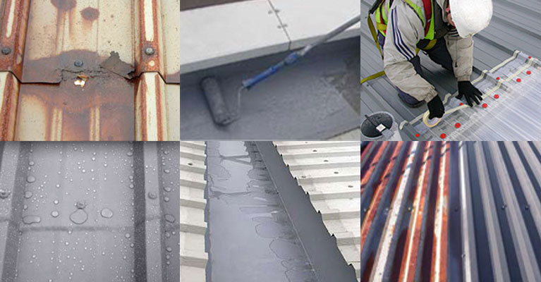 Roof Coating Systems using Giromax products